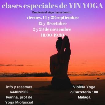 Taller Yin Yoga