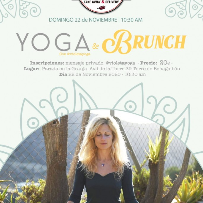 Yoga y Brunch.