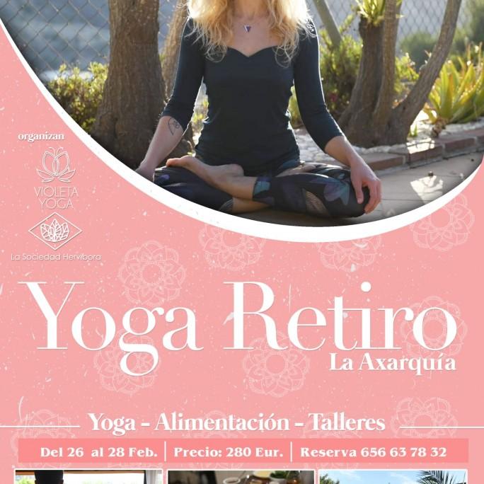 Retiro de Yoga y alimentación consciente