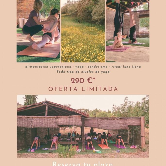 Retiro de Yoga en la serranía de Ronda